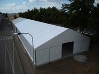 Prodloužení stanové průmyslové haly, IVECO