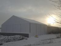 Textilní průmyslová hala, stanové haly forum stany