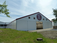 Textilní průmyslová hala 25x50m TATRA TRUCK, stanové haly