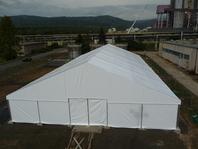 Skladovací výrobní textilní haly velkostany Elektrárny Průnéřov