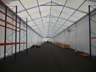 Textilní skladovací hala 10x100m ŠKODA VAGONKA velkostany