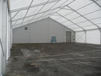 Textilní průmyslová hala, stanové skladovací haly 20x25m velkostany