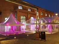Párty stan Forum Alfa velkostany na firemní večírky svatby pronájem ples jako brno