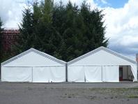 Párty stan Forum Alfa velkostany na firemní večírky svatby pronájem
