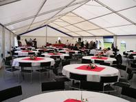 Párty stan Forum Alfa velkostany pronájem na firemní večírky svatby