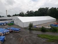 Textilní průmyslová hala, stanové haly