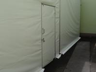 Příslušenství pro skladovací průmyslové haly party stany dveře