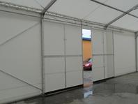 Příslušenství pro skladovací průmyslové haly party stany vrata