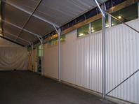 Příslušenství pro skladovací průmyslové haly party stany okap