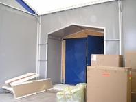 Příslušenství pro skladovací průmyslové haly party stany průchod