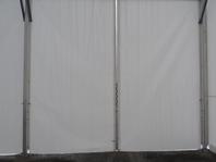 Příslušenství pro skladovací průmyslové haly velkostany vrata