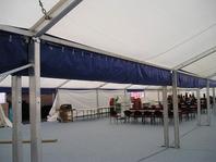 forum párty stany pronájem prodej velkostany skladovací haly okap