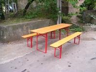 Příslušenství pro párty stany pivní set lavice stůl forum velkostany