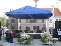 forum párty stany pódium pronájem prodej velkostany