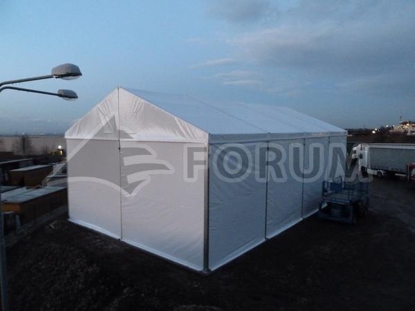 Zimní provoz stanové haly