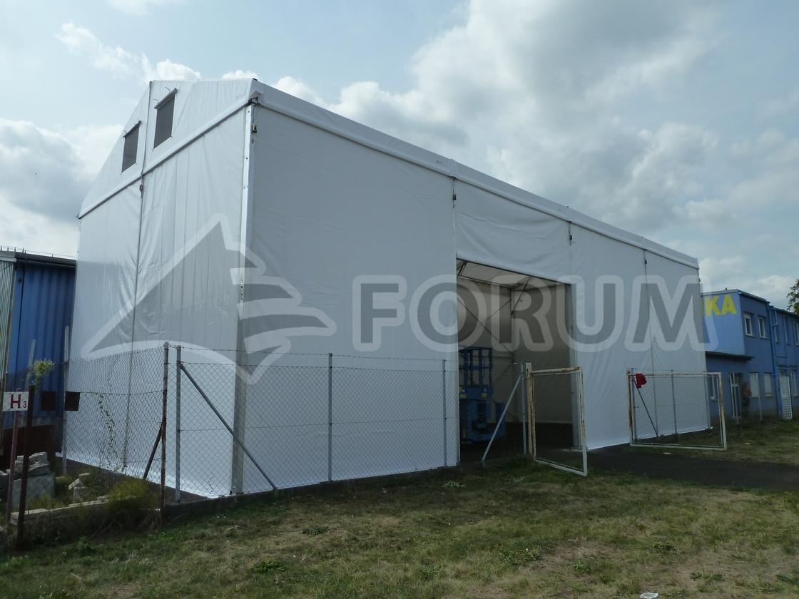 Vyplnění prostoru stanovou halou