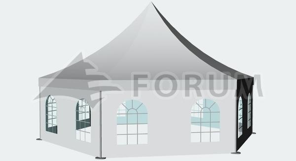 Párty stan Forum Gama