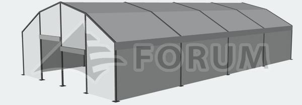 Montované haly, skladové haly Forum MS