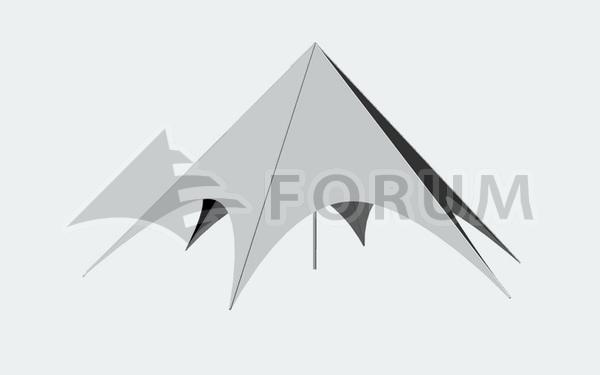 Pronájem párty stanů Forum Delta